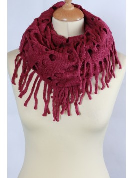 Echarpe Snood Fuschia