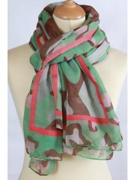 Foulard Camouflage Femme Ranger's