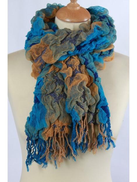 Echarpe Femme Turquoise