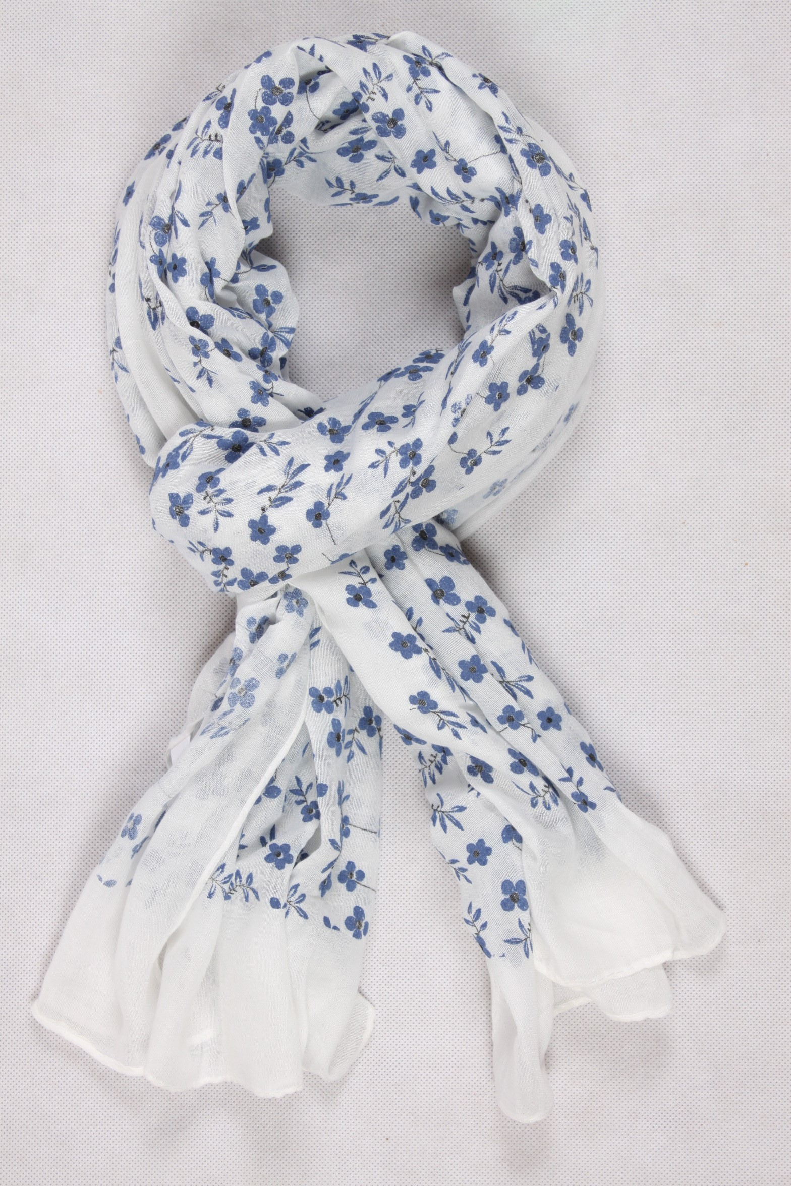 Chèche blanc - Foulard Du Monde 701144ac885