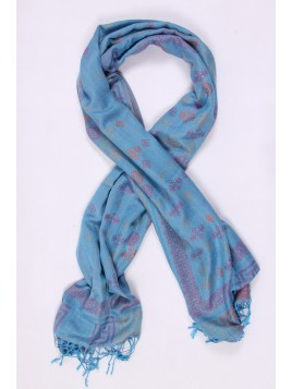 Foulard Grand Carré Marron